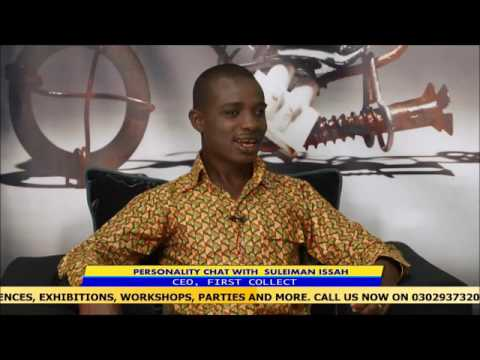 LIVE CHART WITH CEO OF FIRST COLLECT GHANA