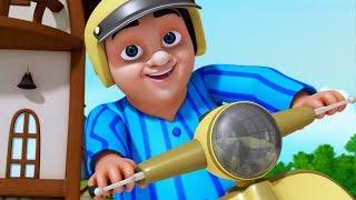 Lalaji Helmet Dharincaledu | Telugu Rhymes for Children | Infobells