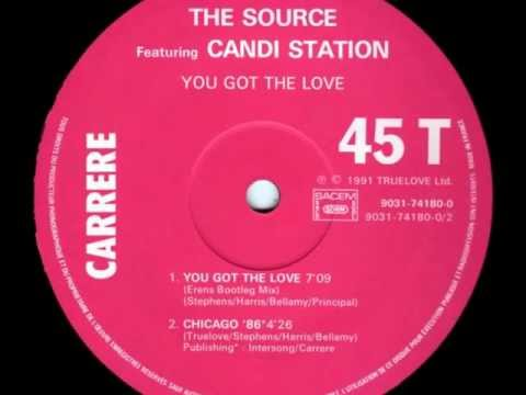 The Source Ft. Candi Station, You Got The Love - 1991
