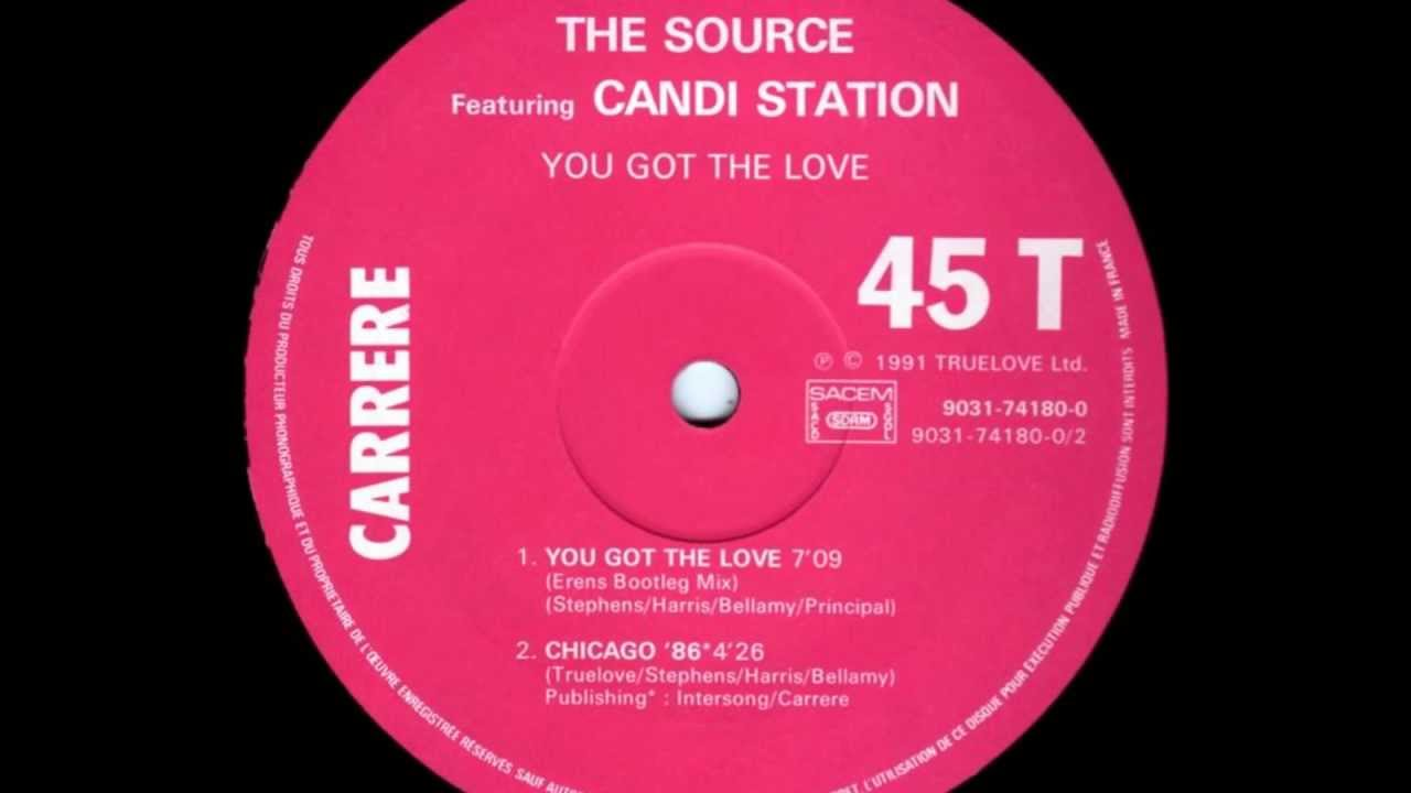 The Source Ft Candi Station You Got The Love 1991 Youtube