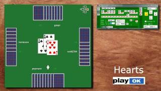online Kartenspiele auf PlayOK.com (Spades, Hearts, Canasta)