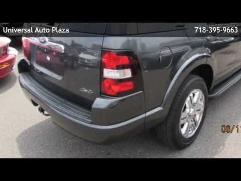 Universal Auto Plaza >> 2010 Ford Explorer V6 Limited W Nav Queens Youtube