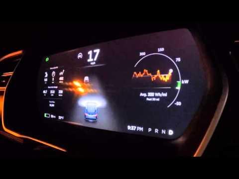 Tesla Model S - Drive Unit: Acceleration Milling Noise