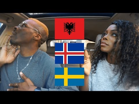 REACTION | ICELAND vs ALBANIA vs SWEDEN Rap/Hip Hop/RnB | BA