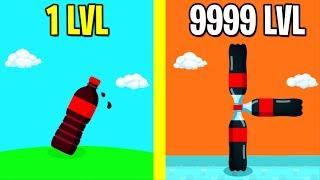 Bottle Flip 3D ALL LEVELS! NEW GAME BOTTLE FLIP 3D WORLD RECORD!