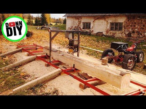 Homemade Chain Sawmill