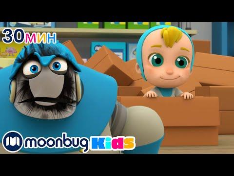 Мультфильм про робота девочку и мальчика
