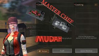 [lifeafter] TIPS AND TRIK CARA MENDAPAT TITLE MASTER CHEF