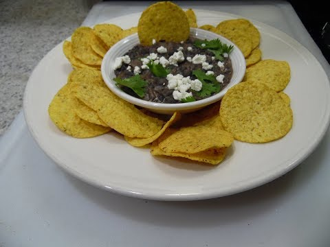 Quick And Simple Black Bean Dip