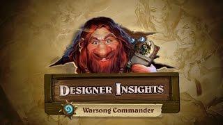 Designer Insights with Ben Brode: Warsong Commander thumbnail