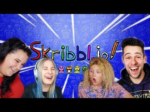 RÖHÖGŐGÖRCS! | Rajzolás Atival, Dórival, Barbival! | Skribble.io #1