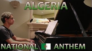 Algeria Anthem - Piano Cover (World Cup 2014)