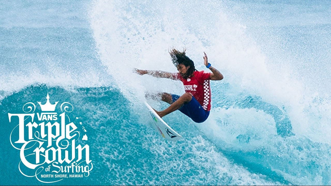 180de19a23 Vans World Cup of Surfing 2016  Day 1 Highlights