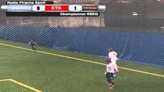 Piranha Soccer Demi-Finale championnat RSEQ 2016 - UQAR