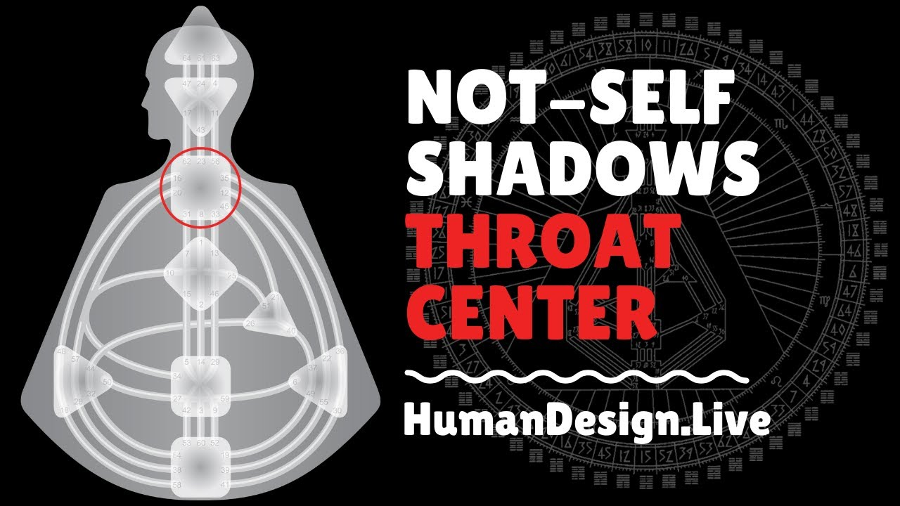 Throat Center Shadow and Solution - Human Design System