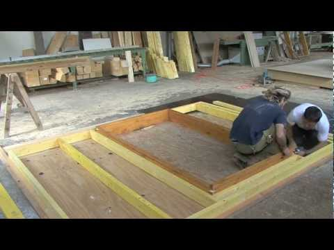 La Construction d'un chalet en bois