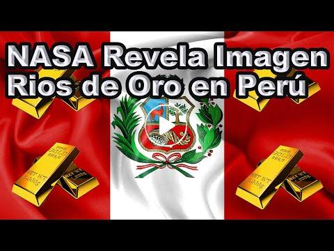 """La Impactante Imagen de los """"Ríos de Oro"""" en Perú"""
