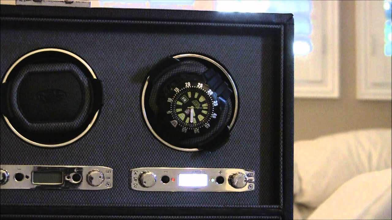 wolf designs viceroy 6 watch winder review youtube
