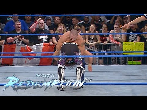 Petey Williams PLANTS Matt Sydal With a Canadian Destroyer! | IMPACT Wrestling Redemption Highlights