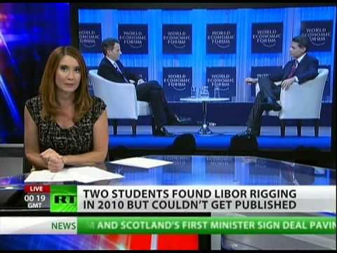 Libor-Fixing scandal: Students warned of rigging years ago