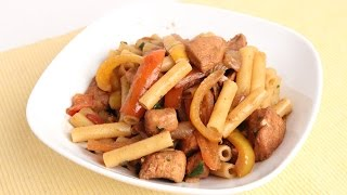 Chicken Fajita Pasta Recipe - Laura Vitale - Laura in the Kitchen Episode 963