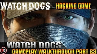 Watch Dogs Walkthrough Part 23 - Train Chase