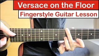 Baixar Versace on the Floor (Bruno Mars) | Fingerstyle Guitar Lesson (Tutorial) How to play Fingerstyle