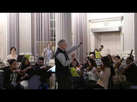 Boris Godunov Rehearsal
