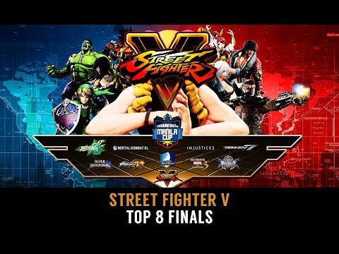 Manila Cup 2017 ➤ Street Fighter V - Top 8 Finals ft. Momochi, Gachikun, Infiltration (TIMESTAMP)