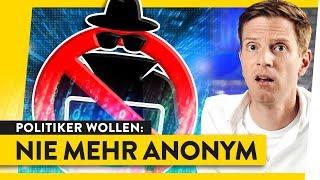 Ende der Anonymität: Internet nur noch mit echten Namen? | WALULIS