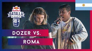 DOZER vs ROMA - Cuartos   Final Nacional Argentina 2019