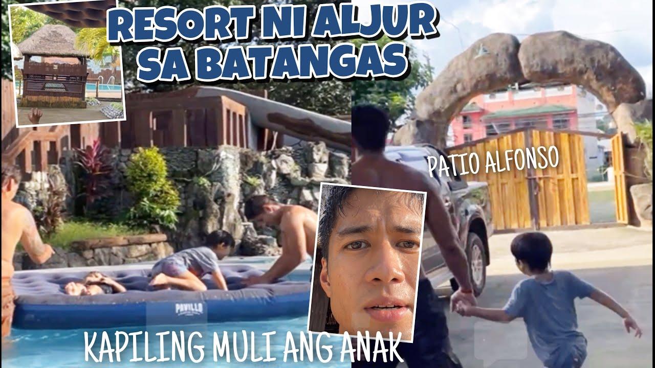 Ang ganda ng RESORT ni ALJUR sa Batangas! Isinama ang dalawang anak ang bait ni Kylie ipahiram sila