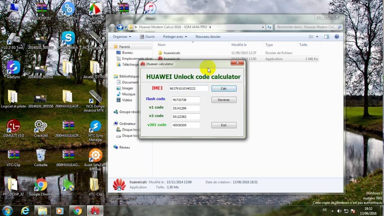 How To Unlock Any Huawei Modem Only by IMEI - YouTube