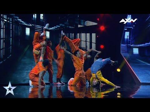 Power Storm Crew Semi-Finals Epi 6 Highlights   Asia's Got Talent 2017