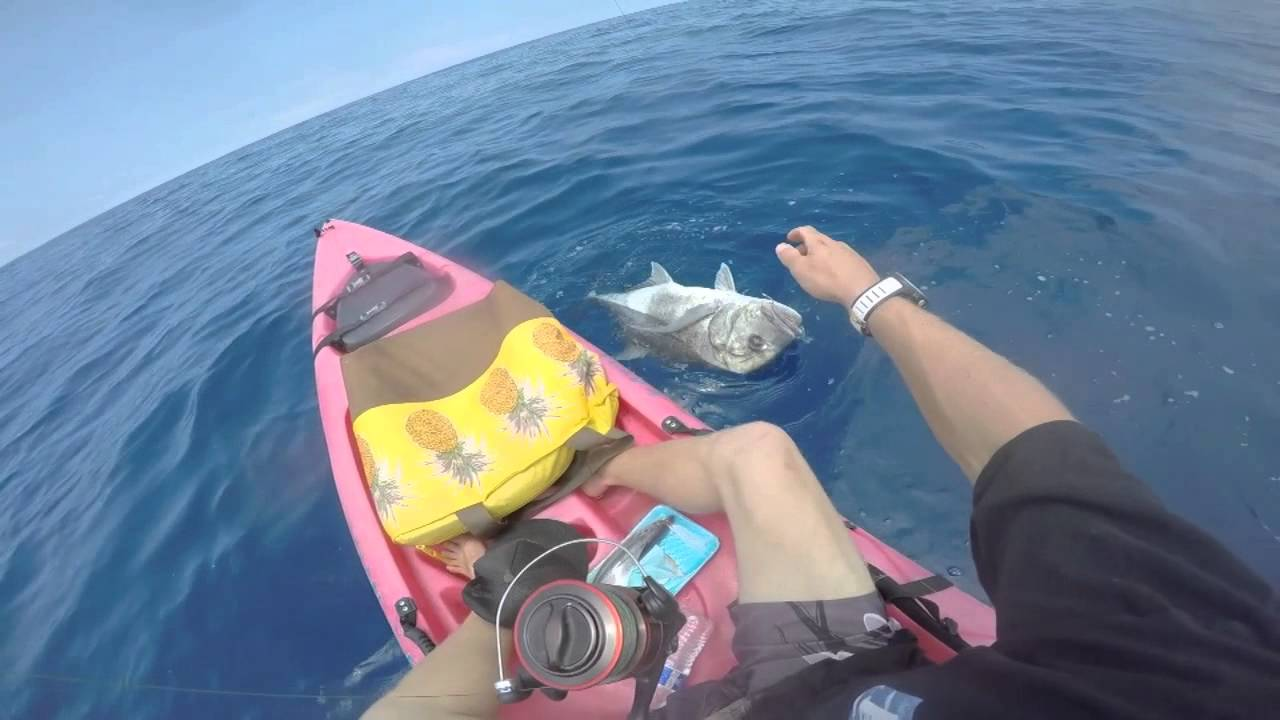 Kayak fishing hawaii 2015 youtube for Kayak fishing hawaii