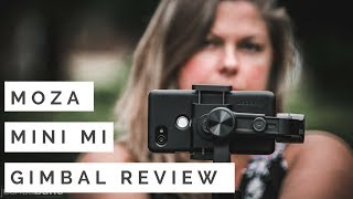 Best Smartphone Gimbal under $100! Moza Mini Mi Review Features Footage