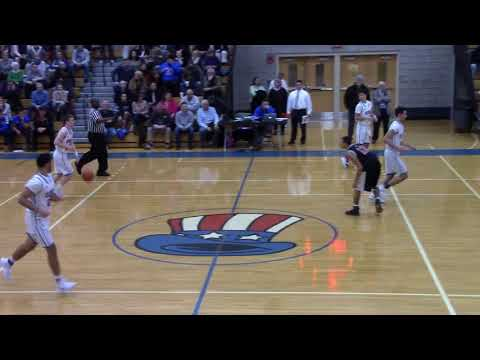 Boys Varsity Basketball QHS vs NQHS February 9, 2018