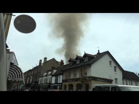 Carshalton Bakery Fire