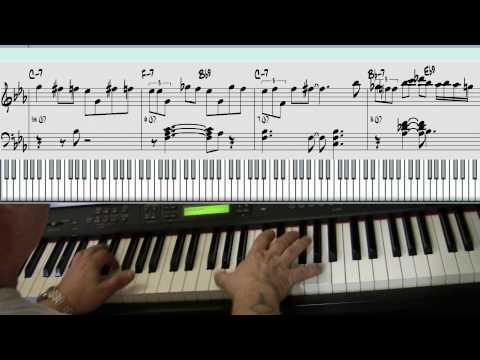 Blue Trane - piano jazz cover - Yvan Jacques
