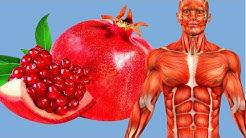 Er isst jeden Tag einen Granatapfel, was das bewirkt hat uns alle umgehauen!