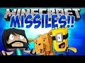FIRING MISSILES!! | Think's Lab Minecraft Mods [Minecraft Roleplay]