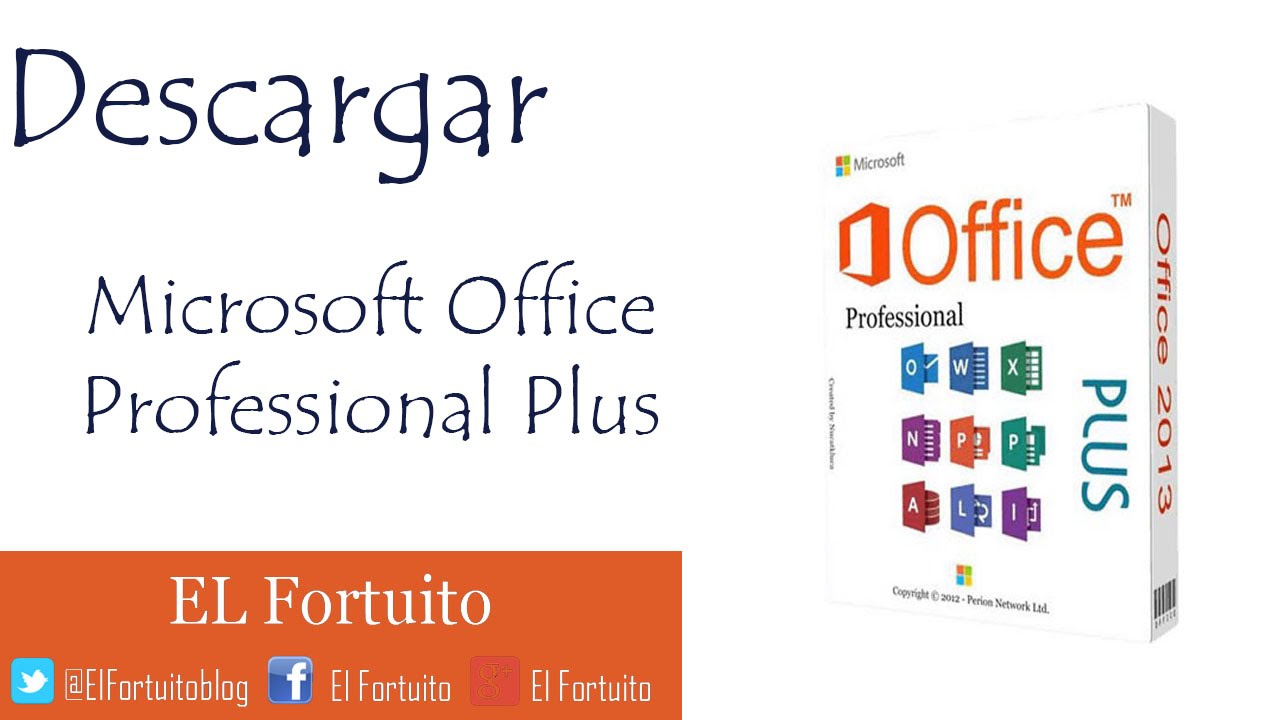 activador microsoft office professional plus 2013