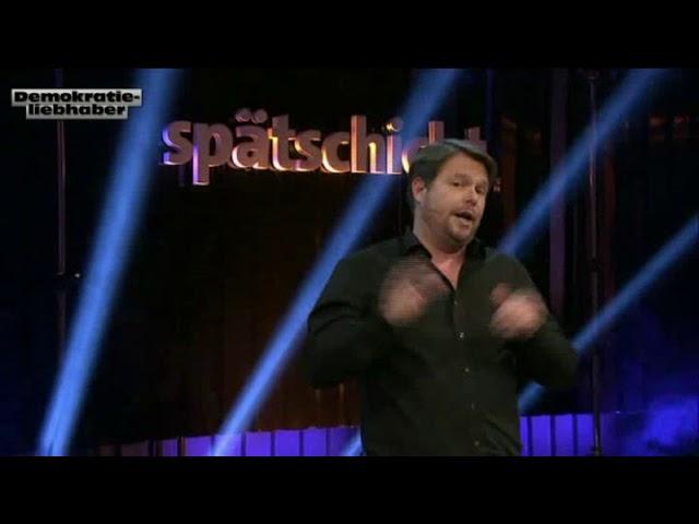 Michael Frowin in der Spätschicht Die Comedy Bühne 2018-01-19