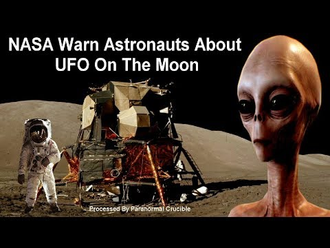 NASA Warn Astronauts About UFO On The Moon?
