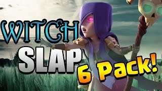 Clash of Clans: WITCH SLAP 6 PACK!! 200th War Win!