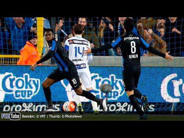 2015-2016 - Croky Cup - 05. Halve Finale - Club Brugge - AA Gent 1-0