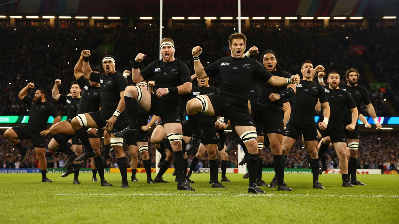 Latest All Blacks Haka intimidates the French  YouTube