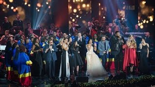 Anggun & All Artists - Happy Christmas (War Is Over) at Concerto Di Natale 2016