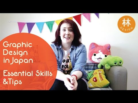 Tips and Skills for Graphic Design Jobs in Japan! - Graphic Design in Japan [Hayashi Design]