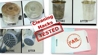 WE TESTED 6 VIRAL CLEANING HACKS | Which of These Actually Work??